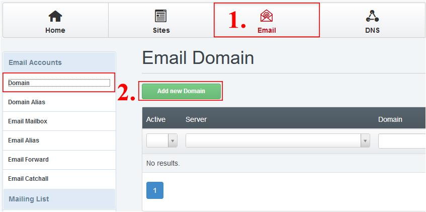 kreiranje e-pošte