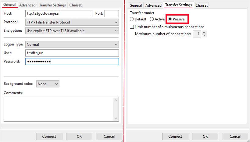 FTP podatki